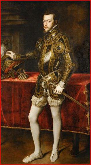 armor king 2. Philip II in Armor.